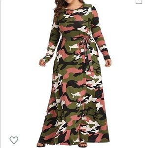 Women Plus Size Camouflage Dress on Poshmark